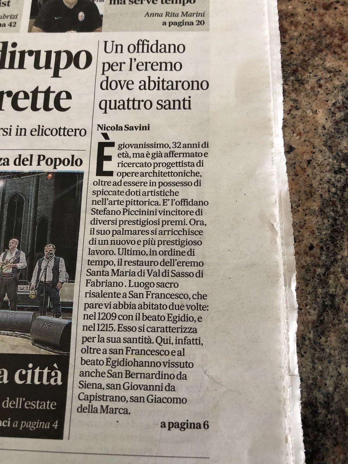 Corriere Adriatico 20-08-2018 1