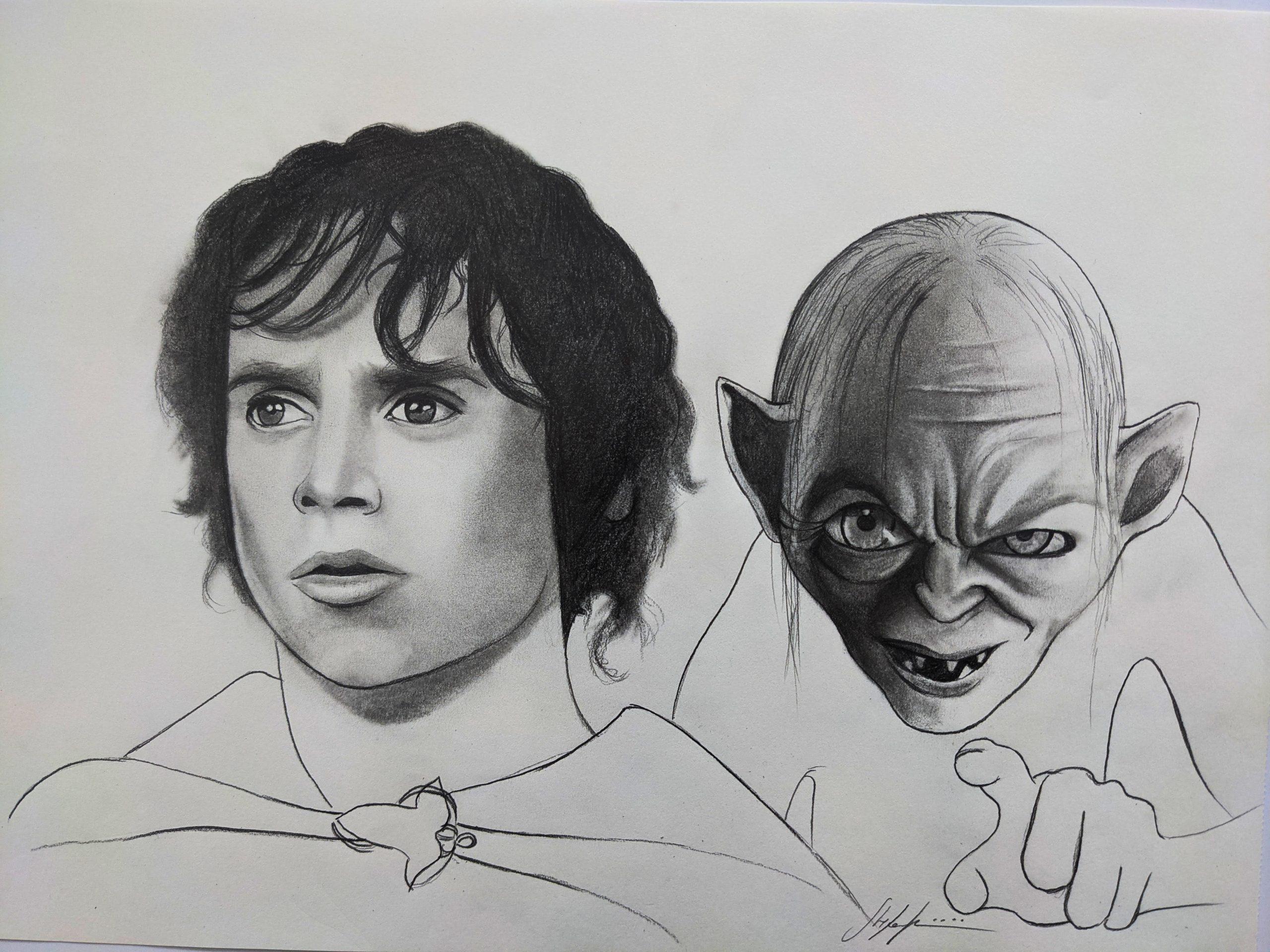 Two Hands – Frodo & Gollum