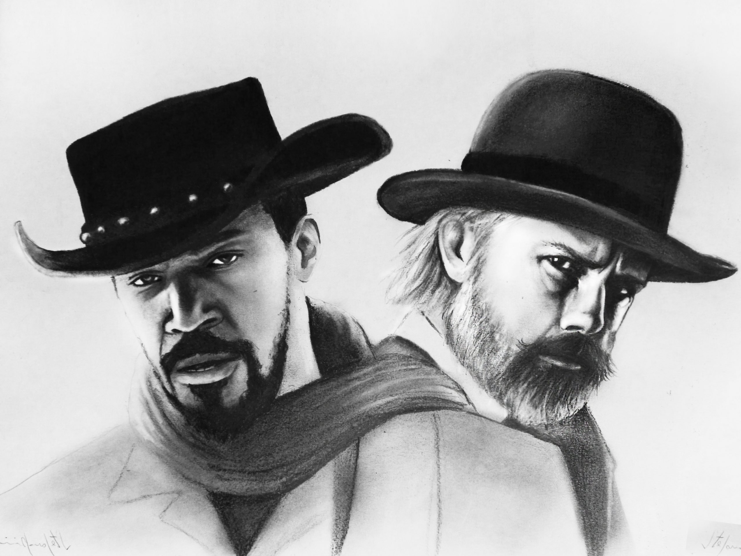 Two Hands – Django & Dr. Schultz